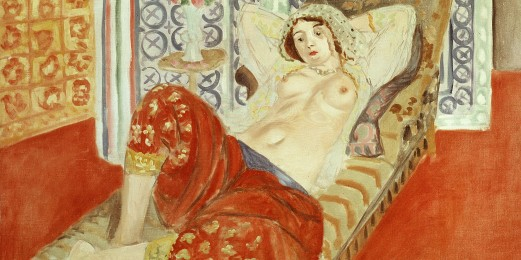L'odalisque à la culotte rouge (odalisque in red trousers), 1922 -- MATISSE, Henri : 1869-1954 : French Photo Credit: [ The Art Archive / Musée National d'art moderne Paris / Gianni Dagli Orti ] © The use of this image in certain types of media may require further clearance