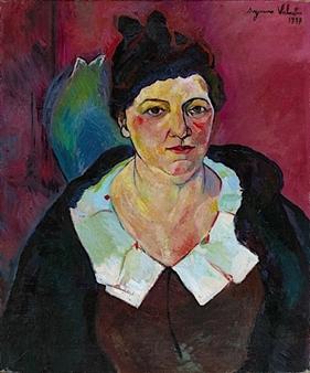 50 Portrait de Lucie VALORE(mme Utrillo) 1931 - Copie